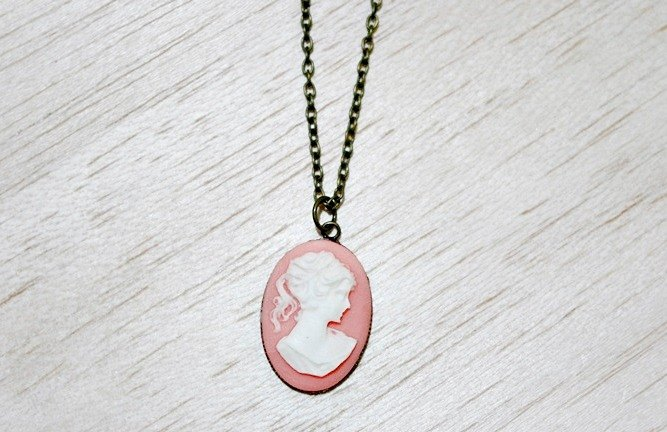 Alloy X Resin Necklace - Ladies - Limited Edition x1-