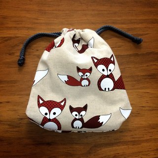 RABBIT LULU small fox Pouch