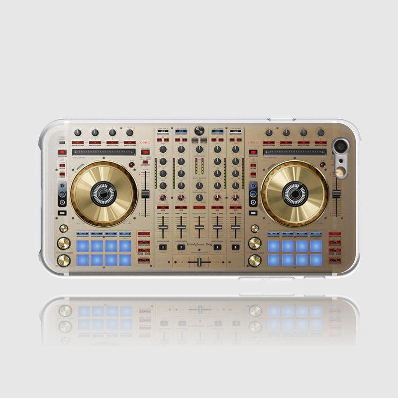 HeadphoneDog DJ iPhone Case