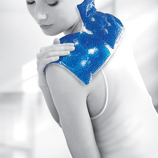 Double-Ning Chu effect of hot and cold pad (three shoulder pillow)