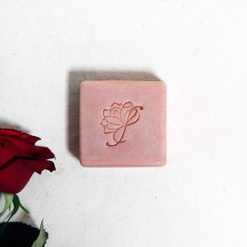 Orange blossom rose soap | dry muscle, full skin for organic rose pure dew