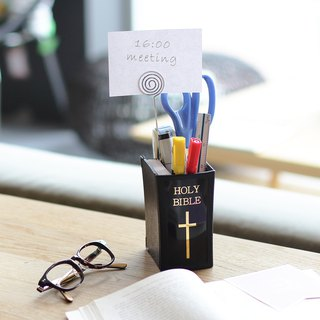 【OSHI】Holy Bible Book-shaped Pen Holder