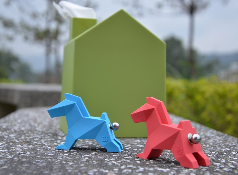 Origami Zoo ZOORIGAMI horse! Valentine's Day limited combinations (lake blue + purple, bright red) Group Limited 10