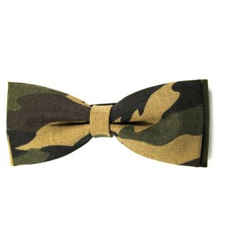 ▲ cong forest camouflage tie -Hand-made Bow Tie