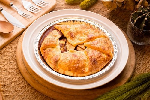 Good day Hao Tian-- rustic apple pie (8 inches)