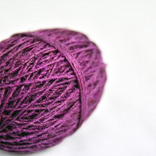 Hemp twine-purple-fair trade
