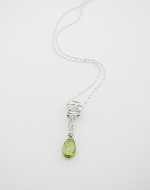 The light series。Silver Necklace#15