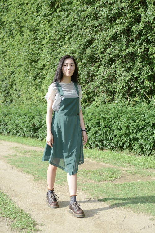 A FOR WHAT_SS15DR102GRN_ Dress