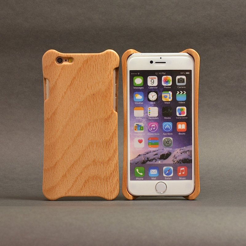 WKidea iPhone 6 / 6S Plus 5.5-inch wooden shell _ beech