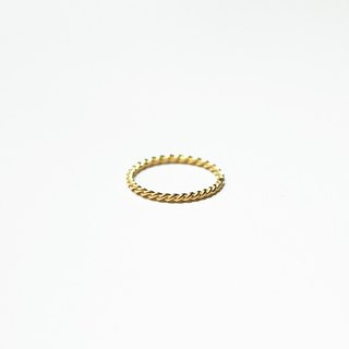 Timeless Series - 14k Gold Twine Ring