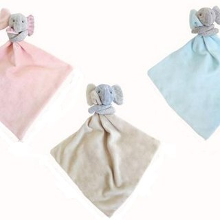 Elephant || appease cotton bibs, wash small square (including elephant) births ceremony birthday gift (MOGOMOGO)