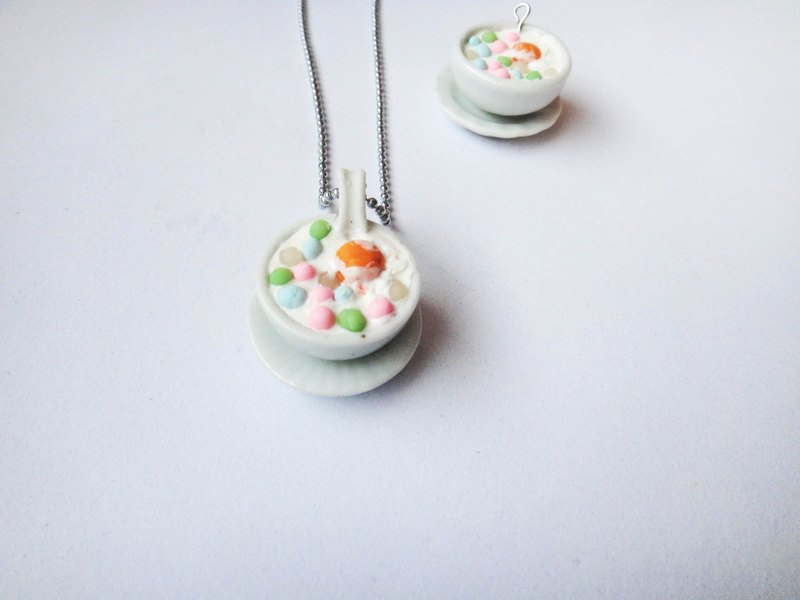 Balls sweet egg necklace