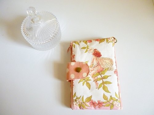 Flower Fairy document Passport Holder / card package ˙ magnetic debit * out of print limited edition one