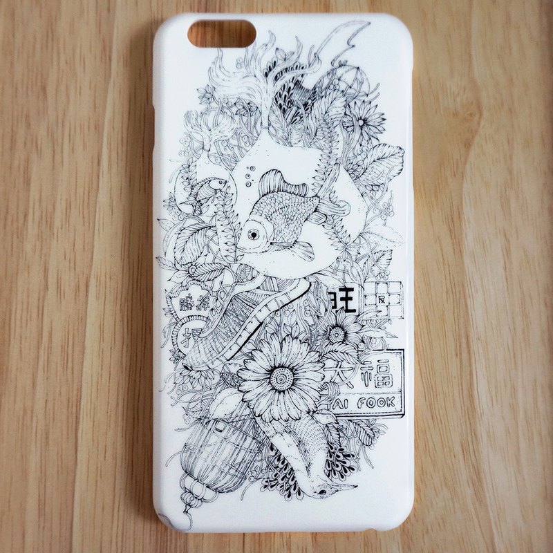 Draw On the Bed multiplicative DISENO iPhone 6 / 6s Phone Case (Mong Kok section of Hong Kong)