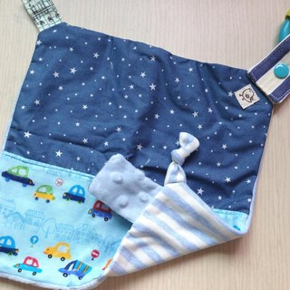 Baby appease towel - under the stars carts
