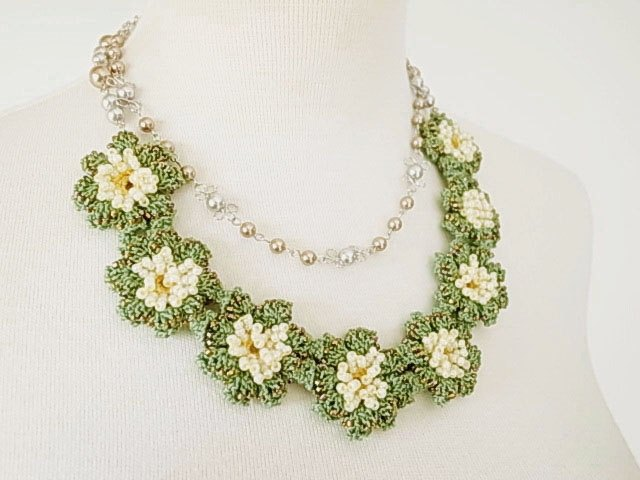 Lace Jewelry (Spring Spring) Necklace