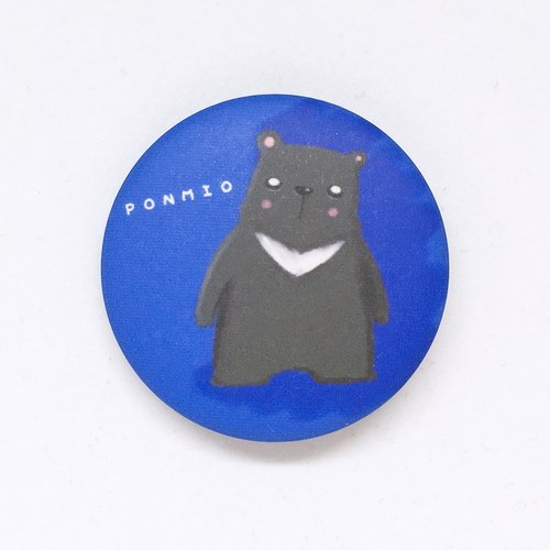 Animal badge bear dad 32mm version is no longer sold