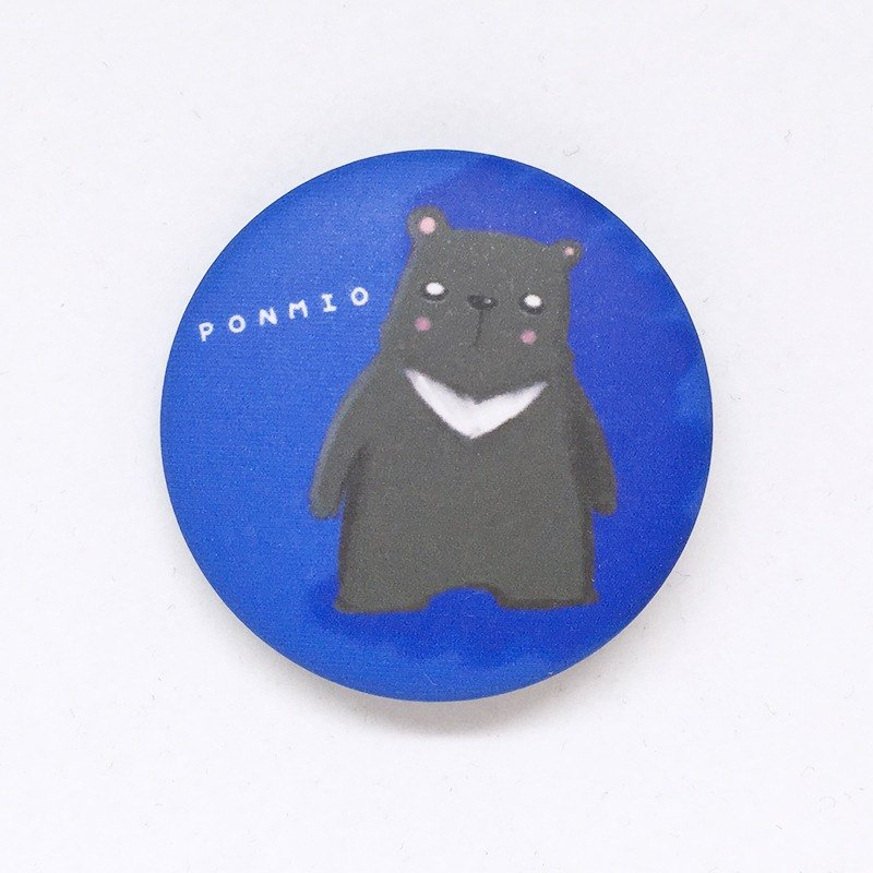 Black Bear Dad 32mm Animal Badge Sold Out No Longer Edition