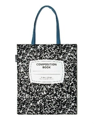 Writing book shopping bags