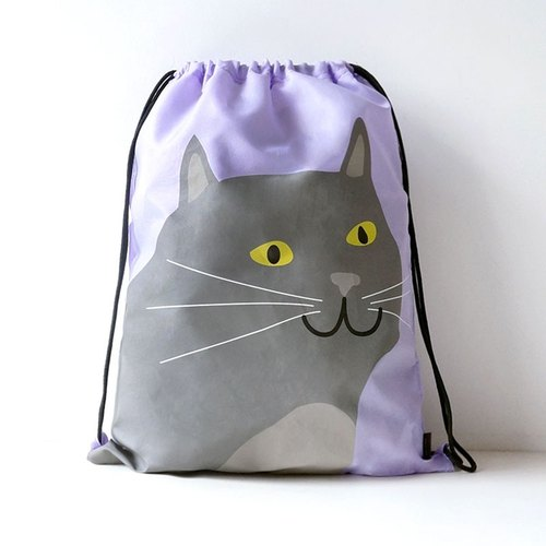 UPICK original product life lovers original printing movement Drawstring Backpack Drawstring Cat couple models