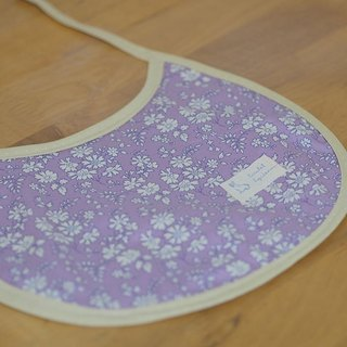 British purple floral. Baby Bibs