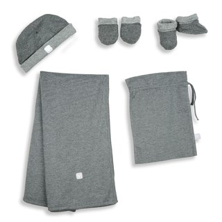 Martin House Take Me Home! Newborn Set Dark Grey