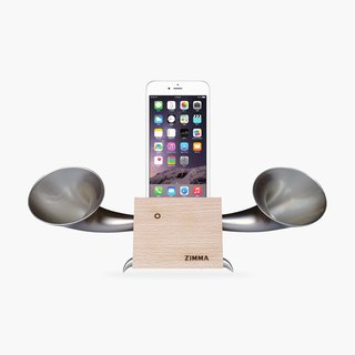 ZIMMA Desk Speaker Stand ! Android and iOS smart phone system dedicated !