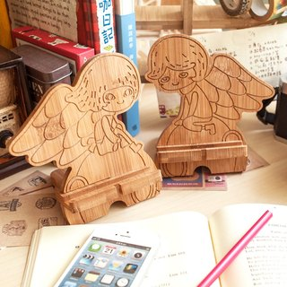 [Chinese Valentine's Day gift] Angel lover / customized mobile phone holder