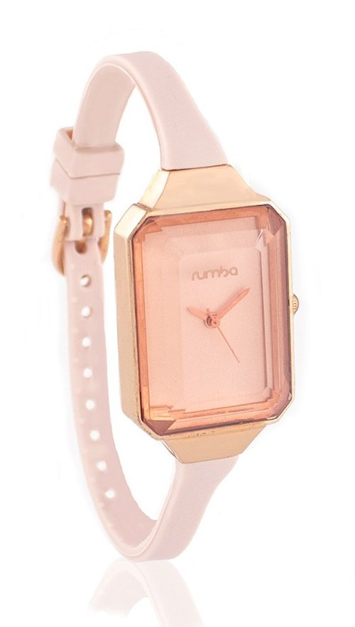 {Rumba Time} in New York fashionable watch brand Union Gem - Rose Gold