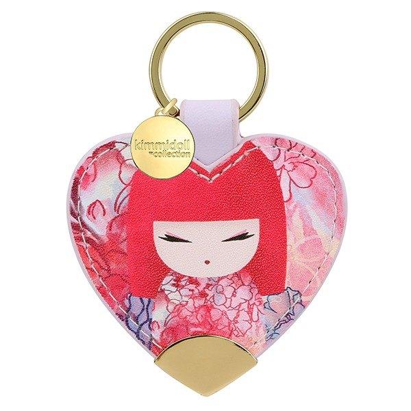 皮革鑰匙圈-Yuka 暖心能量【Kimmidoll 和福娃娃】