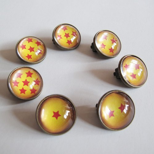 Round ear clip ear acupuncture - Summon Dragon Dragon Ball