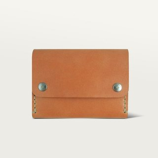 Double Buckle Wallet / Wallet - Camel Yellow