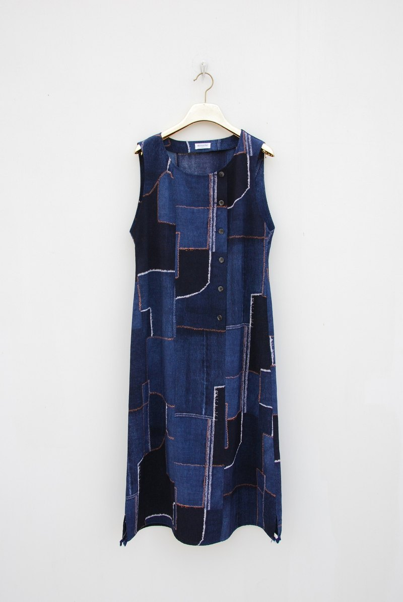 Vintage Patchwork Dress