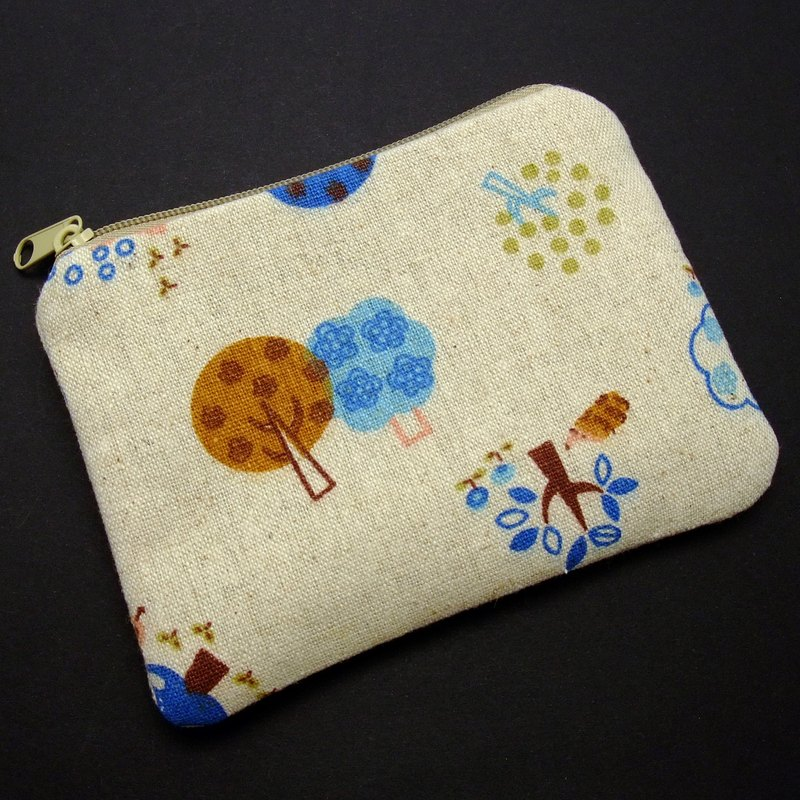 Zipper pouch / coin purse (padded) (ZS-102)