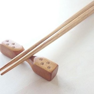 Paw footprints chopstick rest (Tsutsumi type)
