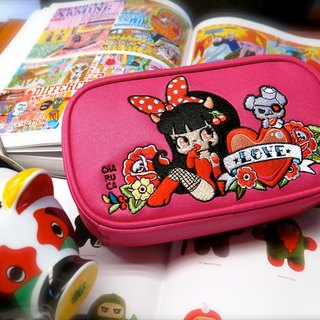 Sigema X Charuca Travel Bag 000 packets / sexy little girl (pink)