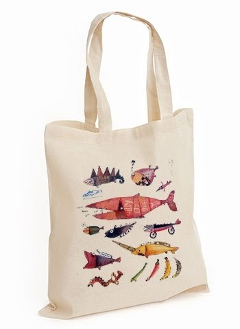 Shoulder bag-Fish