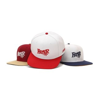 Filter017 Fable Font Snapback Cap Rear Button Baseball Cap
