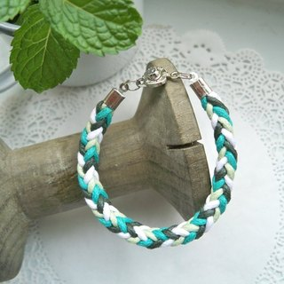 Three-dimensional bracelet - mint style - 1