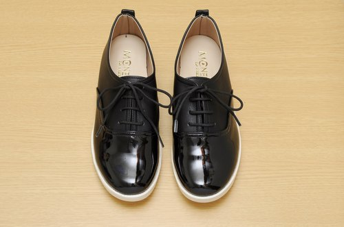 MCNelly Korea handmade shoes Raconta - Black