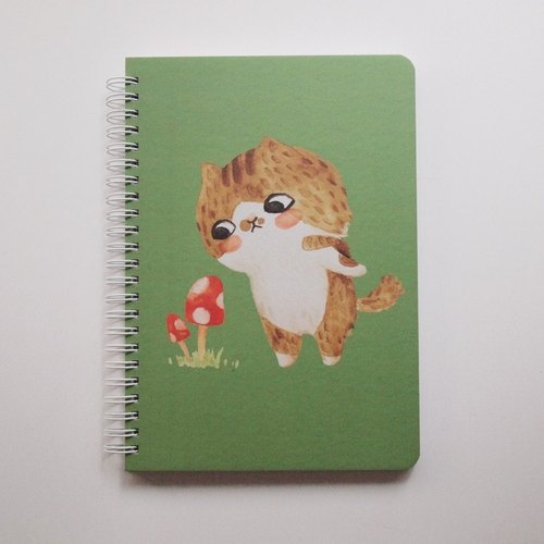 A5 notebook - Charlie (squares)