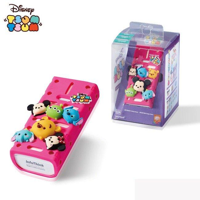 InfoThink x Disney TSUM TSUM Action Power 5200mAh (random characters) - Designer infothink | Pinkoi