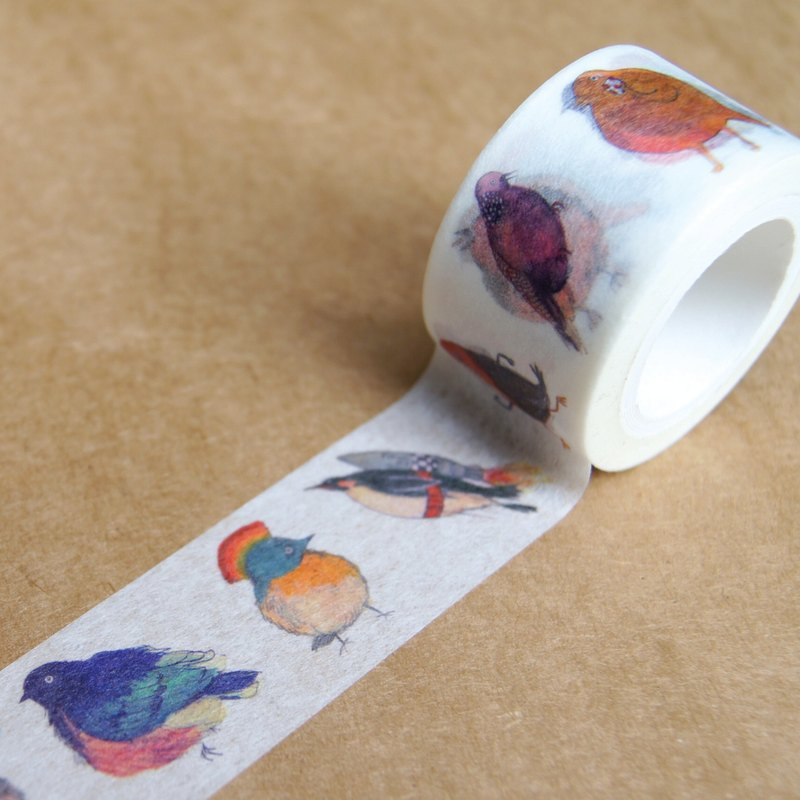"Many Birds washi tape ""B set"""
