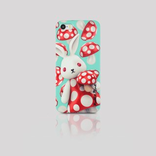 (Rabbit Mint) Mint Rabbit Phone Case - Mushroom Series Merry Boo - iPhone 5 / 5S (M0005)