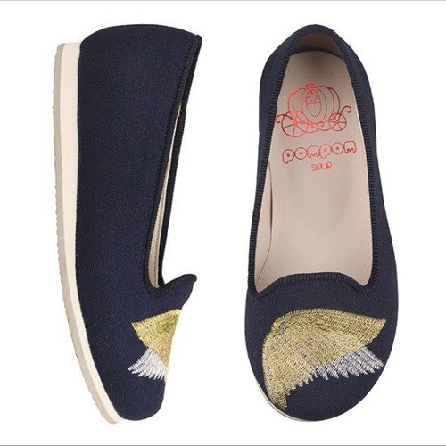 WITH FREE GIFT – SPUR Cherubic wings's petite kid flats FS6026 NAVY(Cannot be exchanged)