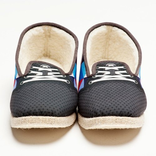 Felix simulation graffiti wool fashion design casual shoes