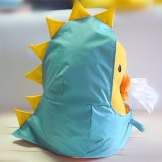 Bucute face paper cover new clothes + small dinosaur raincoat / global limited / exclusive sale / handmade /