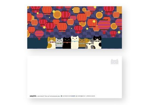 hime's cats my cat postcard Festival