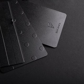 BLACK ipass card