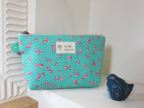 Floral Universal Limited packet (blue-green)
